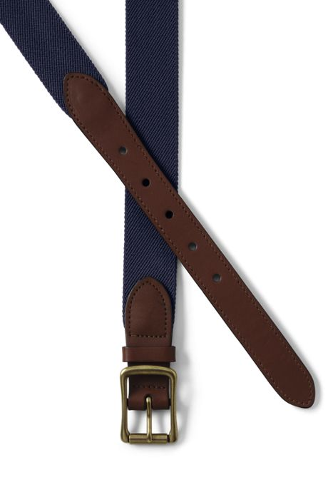 Men's Elastic Surcingle Belt