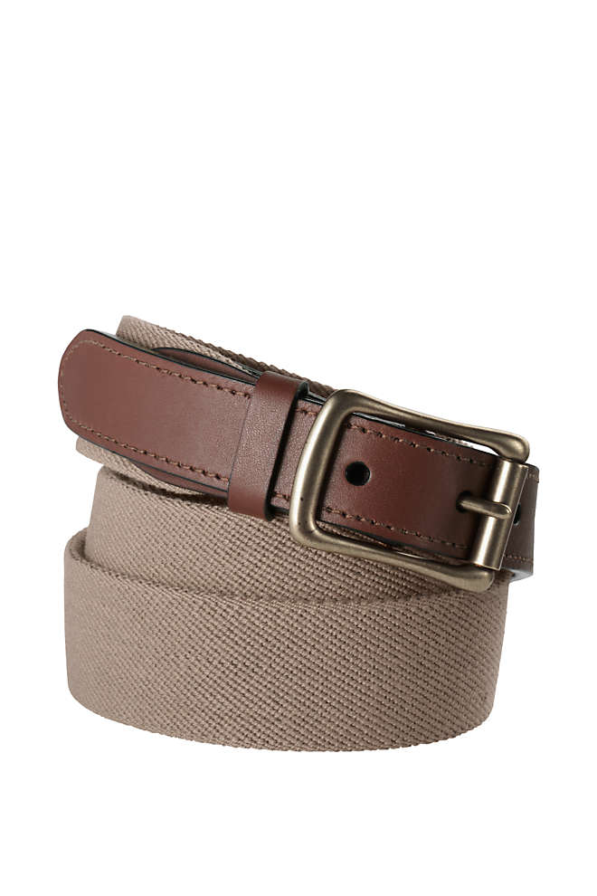 Men's Elastic Surcingle Belt, Front
