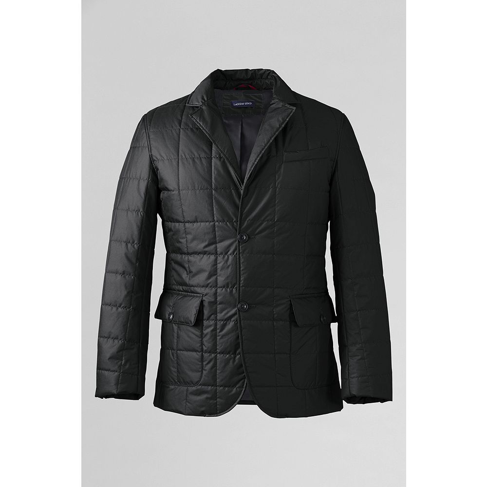 Lands' End Men's Tailored Quilted Jacket