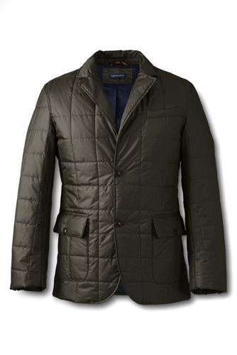 Men's Regular Quilted Tailored Jacket