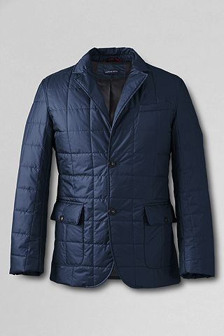 Primaloft Square Quilt Jacket 443054: Light Regiment Navy