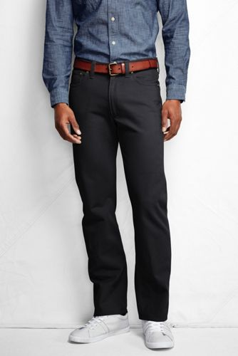 STRAIGHT FIT Farbige Denim-Jeans