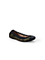 Women's Regular Eliza Calf Hair Camo Print Ballet Pumps