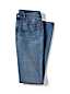 Indigo Wash Straight Jeans für Damen