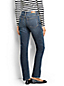 Le Jean Droit Stretch Coupe 2, Femme Taille Standard