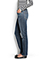 Women's Regular Medium Wash Mid Rise Straight Leg Jeans