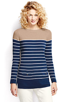 Women's Striped Pocket Tunic