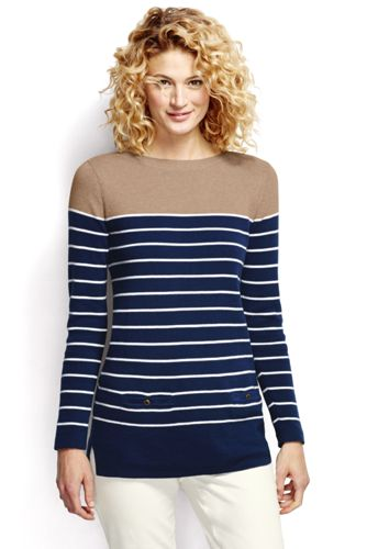 Women's Regular Striped Pocket Tunic