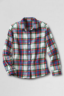 Girls' Flannel Shirt