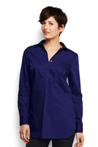 Women's Regular Supima® Non-Iron Tunic