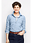 Women's Regular Patterned Chambray Shirt