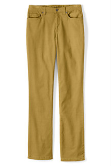 Women's Mid Rise Straight Leg Cords