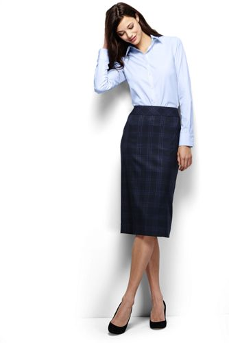Women's Regular Wear to Work Pencil Skirt