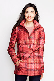 Women's Refined PrimaLoft® Patterned Parka