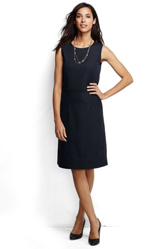 Women's Wear to Work Sheath Dress from Lands' End