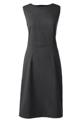 Women's Regular Woven Sleeveless Shift Dress