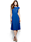 Women's Regular Ponte Jersey Flounce Skirt Dress