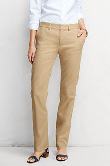 Le Chino Droit Stretch Uni Coupe 2, Femme