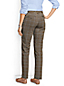 Women's Low Rise Plaid Slim Leg Chinos