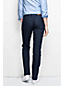 Women's Regular Dot Denim Mid Rise Straight Leg Jeans