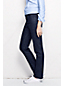 Women's Dot Denim Mid Rise Straight Leg Jeans
