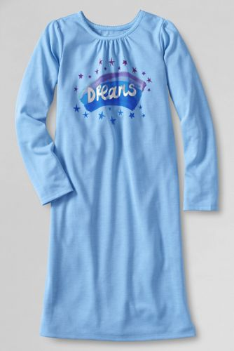 Girls' Long Sleeve 'Dreams' Nightie