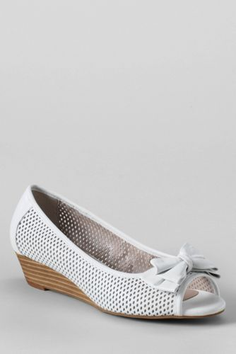 Women's Lotus Willow Peep-toe Shoes