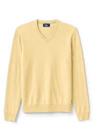 Men's Fine Gauge Cashmere V-neck Sweater