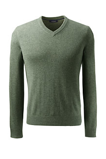 Men's V-neck Cashmere Sweater