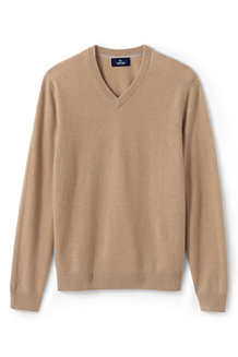Men's V-neck Cashmere Jumper