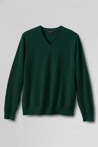 Men's Regular V-neck Cashmere Sweater