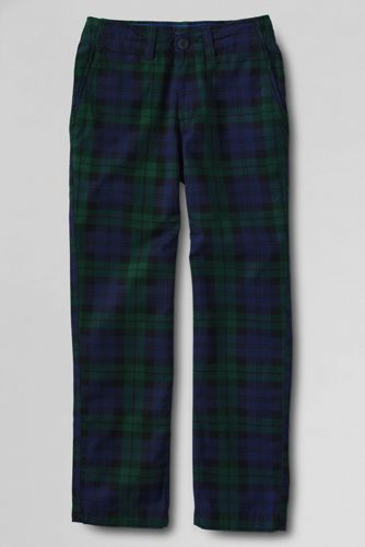 Boys' Plaid Iron Knee® Cadet Trousers