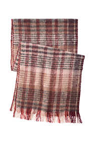 Women's Brushed Plaid Scarf