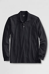 Men's Long Sleeve Peruvian Pima Polo Shirt