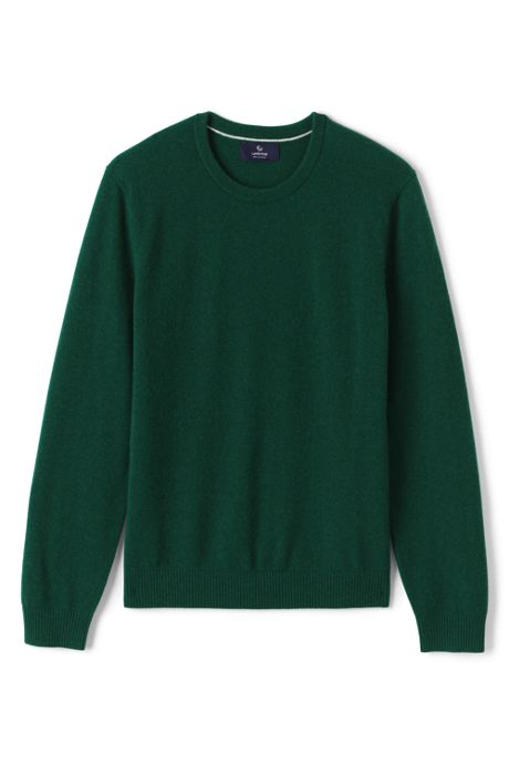 Men's Fine Gauge Cashmere Crewneck Sweater