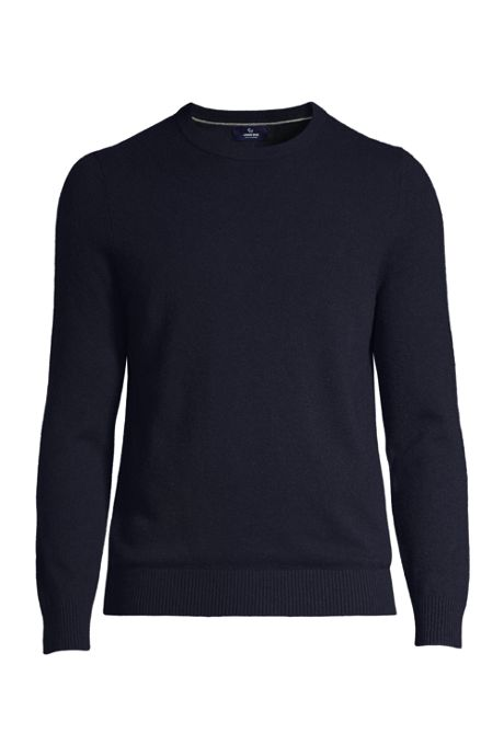 Men's Tall Fine Gauge Cashmere Crewneck Sweater