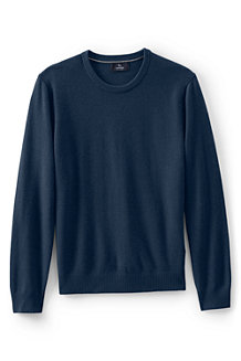 Men's Crew Neck Cashmere Sweater