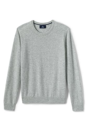 Men's Cashmere Crewneck Sweater from Lands' End