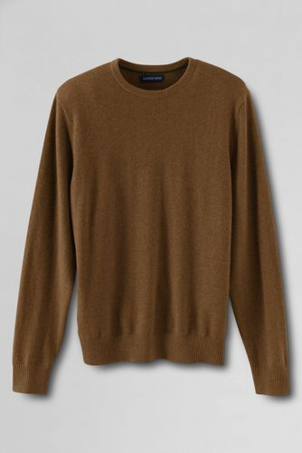 Men's Regular Crew Neck Cashmere Jumper