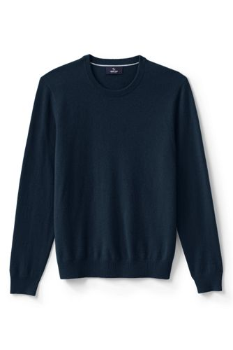 Le Pull Fine Maille Cachemire Col Rond Homme, Taille Standard