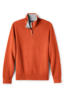 Men's Brushed Rib Pullover