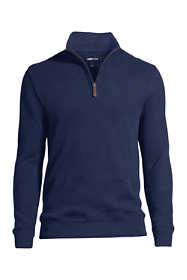 Men's Tall Bedford Rib Half Zip Mock Pullover