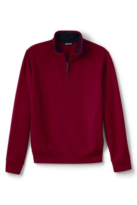 Men's Big and Tall Bedford Rib Quarter Zip Sweater