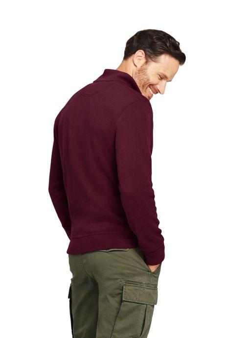 Men's Tall Bedford Rib Half Zip Mock Pullover