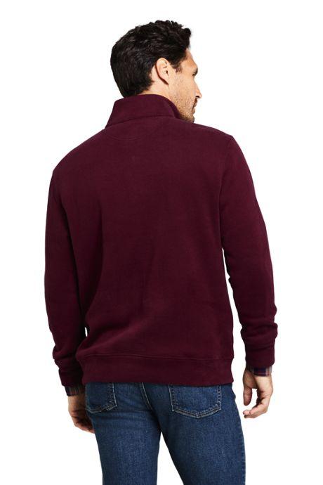 Men's Bedford Rib Quarter Zip Sweater