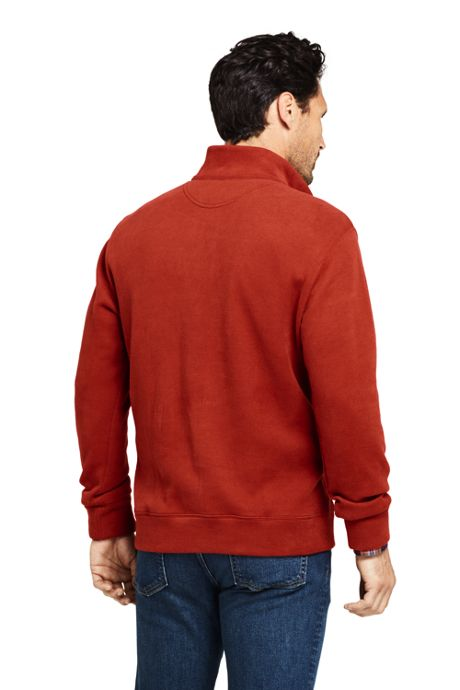 Men's Bedford Rib Quarter Zip Sweater