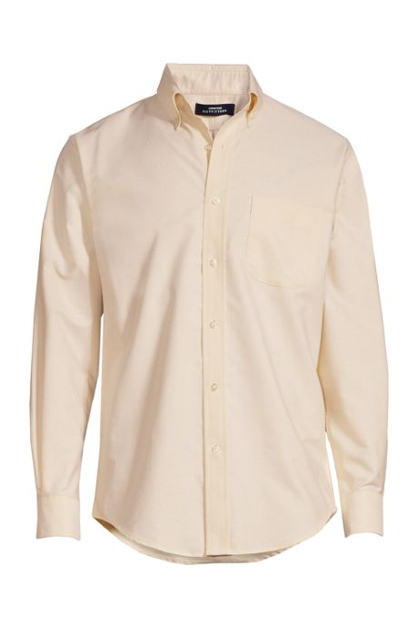 Men's Long Sleeve Button Down Oxford Shirt