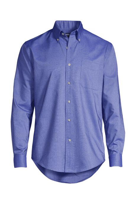 Men's Tall Long Sleeve Buttondown Oxford Shirt