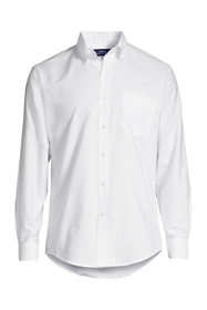 Men's Big and Tall Long Sleeve Buttondown Oxford Shirt