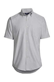 Men's Tall Short Sleeve Buttondown Stain Release Oxford Sport Shirt